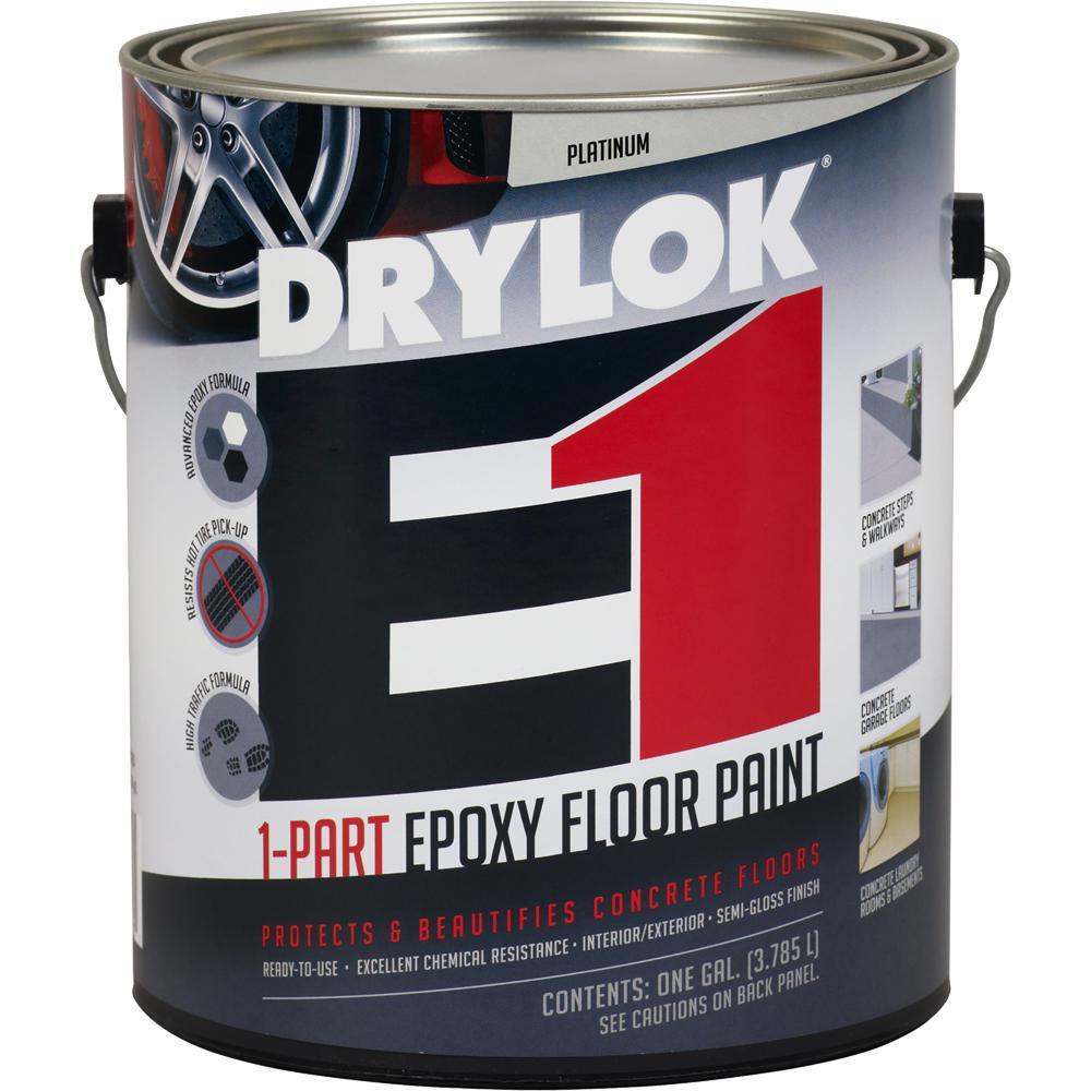 DRYLOK 1 gal. Platinum E1 Epoxy Floor Paint