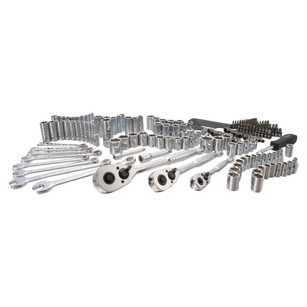 STANLEY Stanley SAE & Metric Mechanics Tool Set (201-Piece)