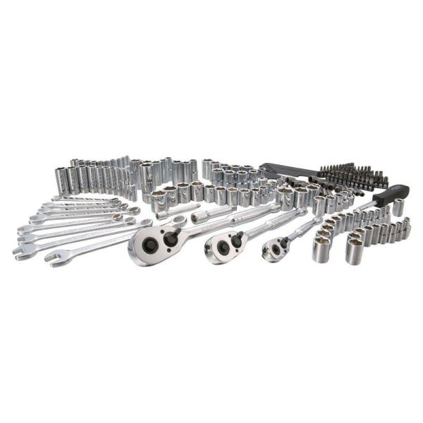 SAE & Metric Mechanics Tool Set (201-Piece)
