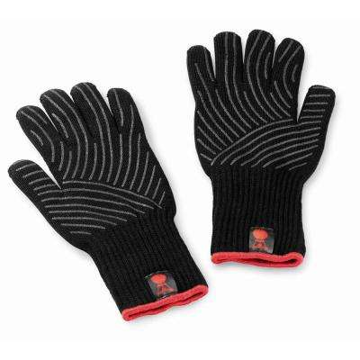 Black Premium BBQ Glove Set (Small/Medium)