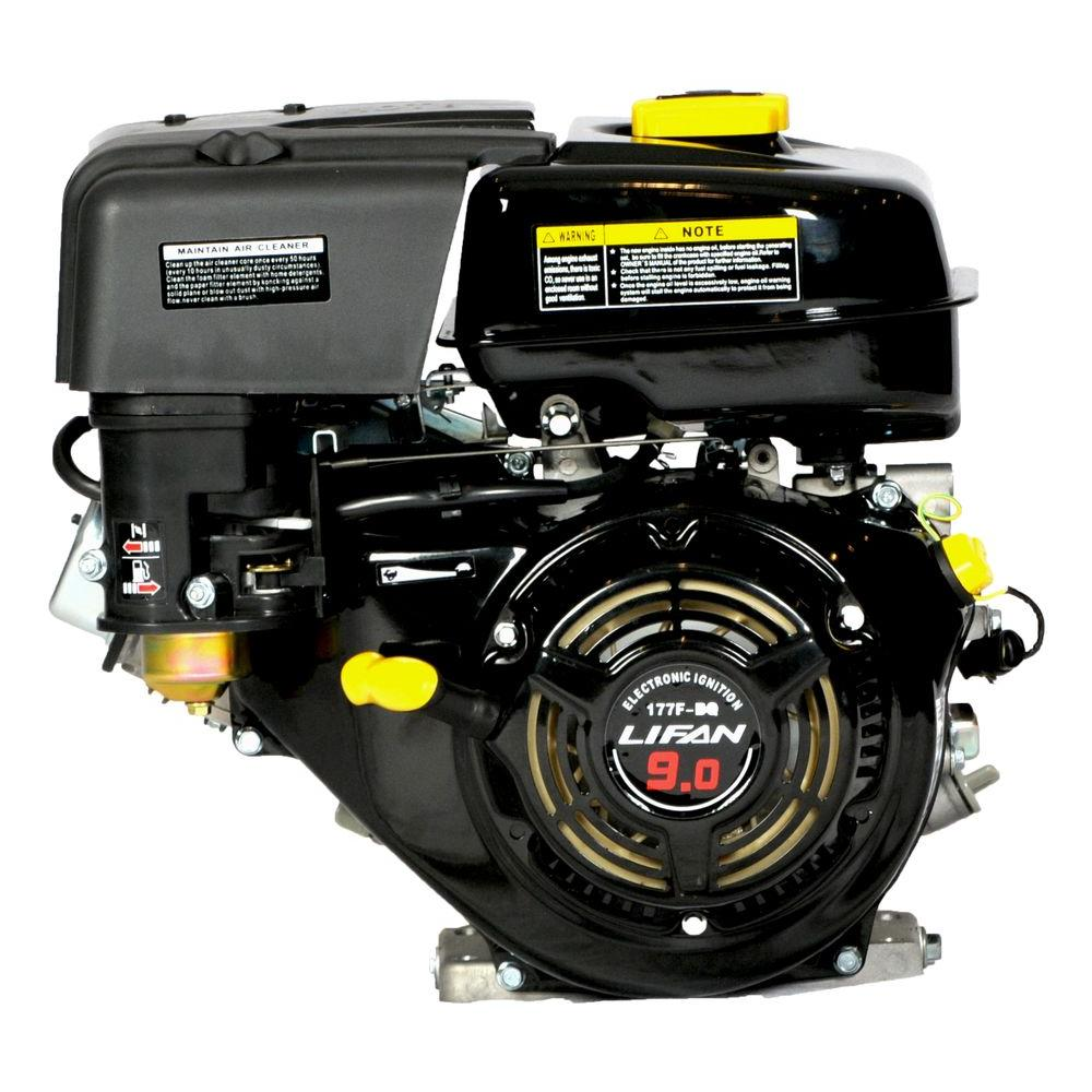 LIFAN 9 HP OHV Electric Start 1 in. Horizontal Keyway Shaft Engine-DISCONTINUED