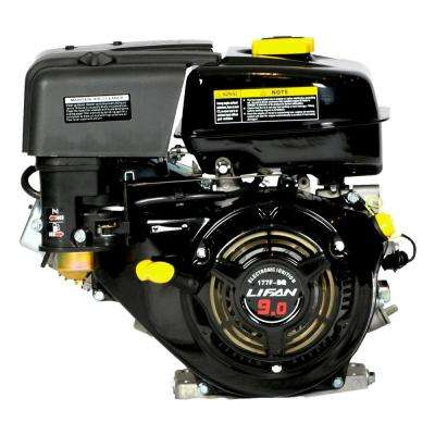 1 in. 9 HP Electric Start Threaded Shaft Gas Engine for Heavy Duty Application