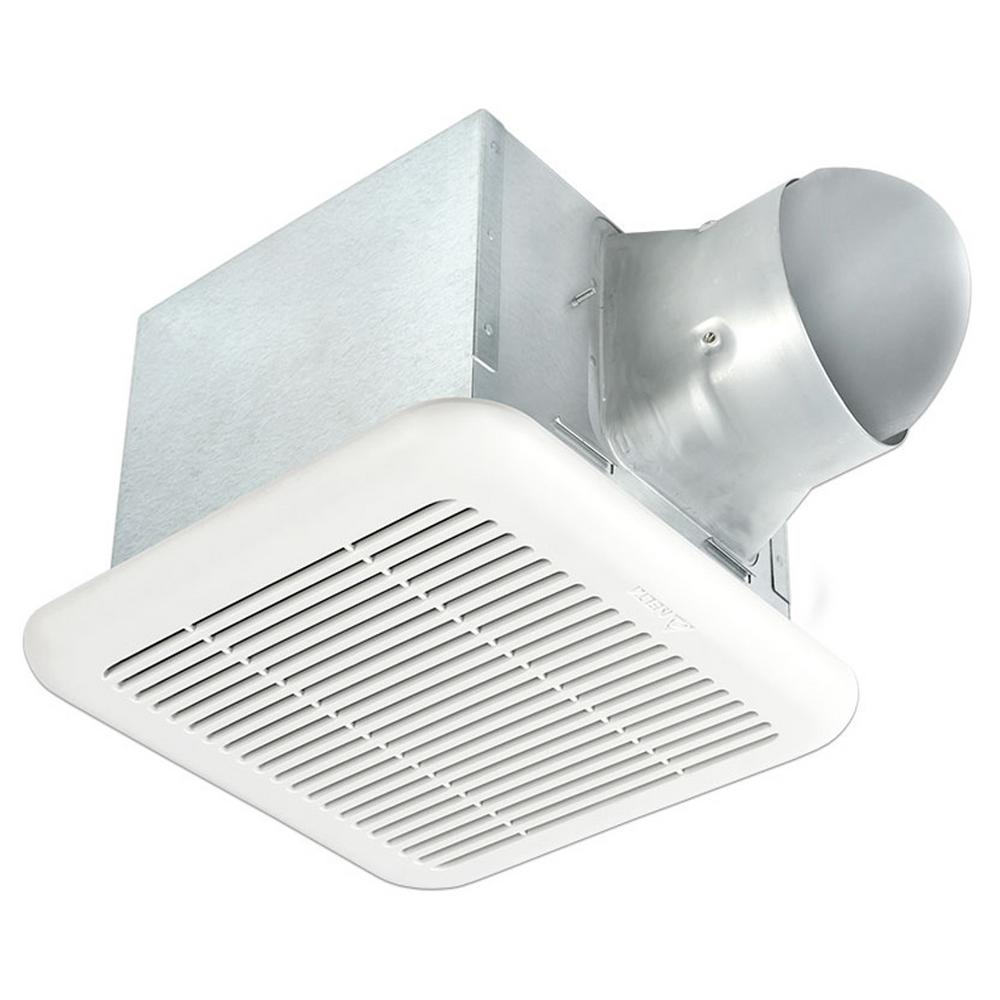Signature 80/110 CFM Adjustable Speed Ceiling Exhaust Bath Fan with Humidity
