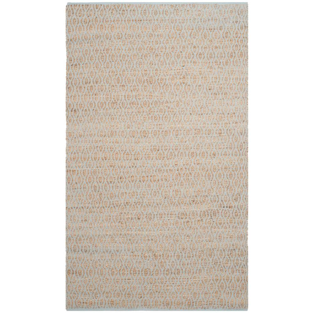 Safavieh Cape Cod Silver/Natural 5 ft. x 8 ft. Area Rug