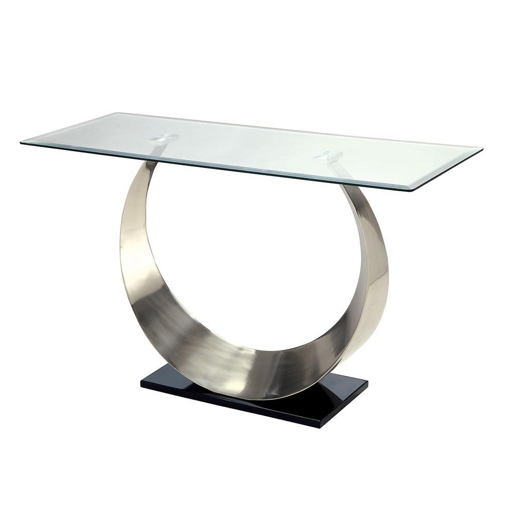 Williams Home Furnishing Orla Silver Sofa Table