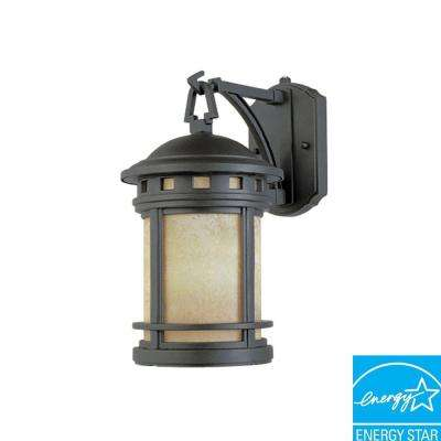 Sedona Oil Rubbed Bronze Outdoor Wall-Mount Lantern