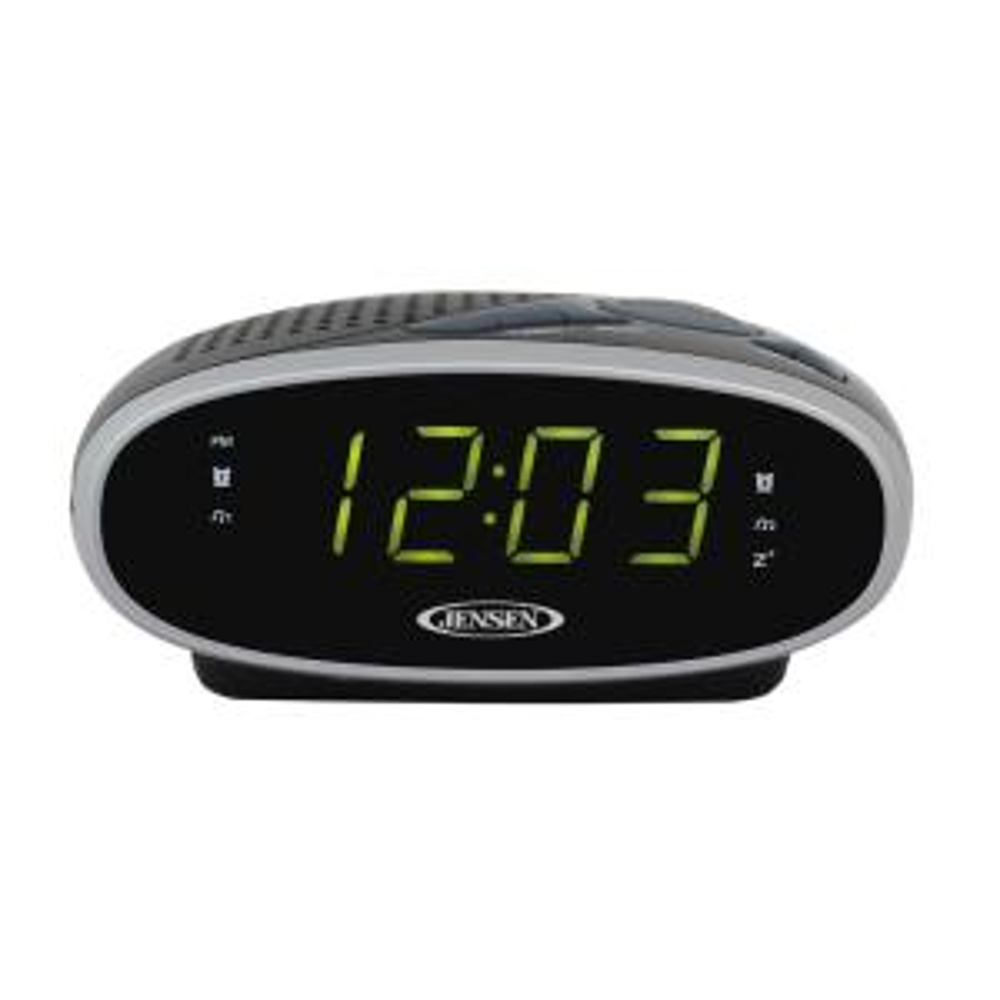 JENSEN AM/FM Alarm Clock Radio by JENSEN