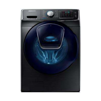 4.5 cu. ft. High-Efficiency Front Load Washer with Steam and AddWash Door in Black Stainless Steel, ENERGY STAR