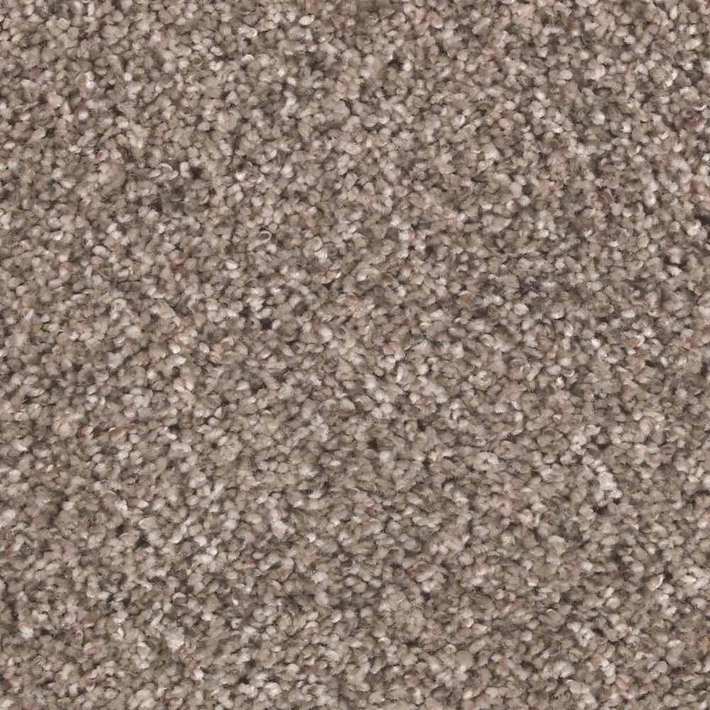 Carpet Sample - Tidal Pool - Color Manatee Textured 8 in. x 8 in.