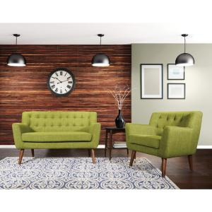 Astonishing Osp Home Furnishings Mill Lane Chair And Loveseat Set In Andrewgaddart Wooden Chair Designs For Living Room Andrewgaddartcom