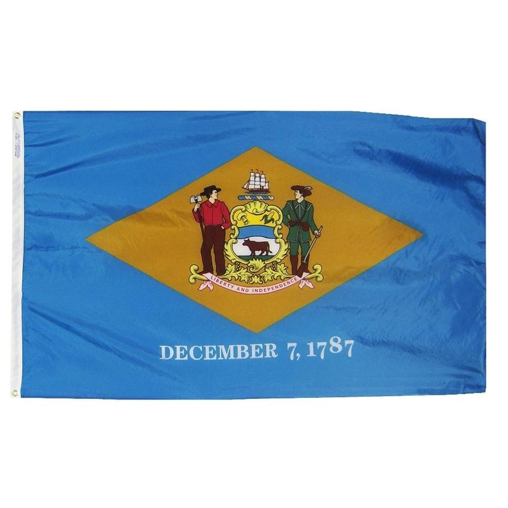 Annin Flagmakers 3 ft. x 5 ft. Delaware State Flag