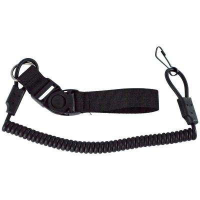 Pistol Lanyard in Black