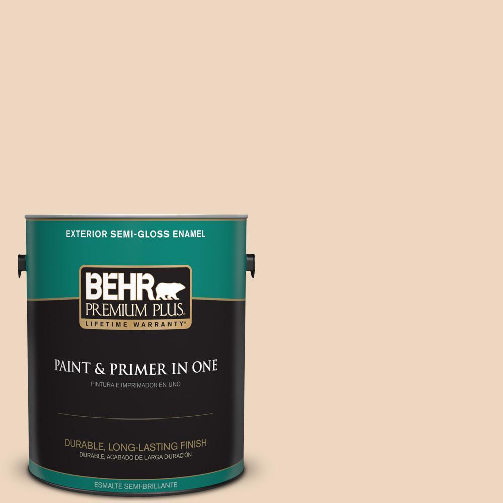 1 gal. #PPU4-10 Porcelain Skin Semi-Gloss Enamel Exterior Paint