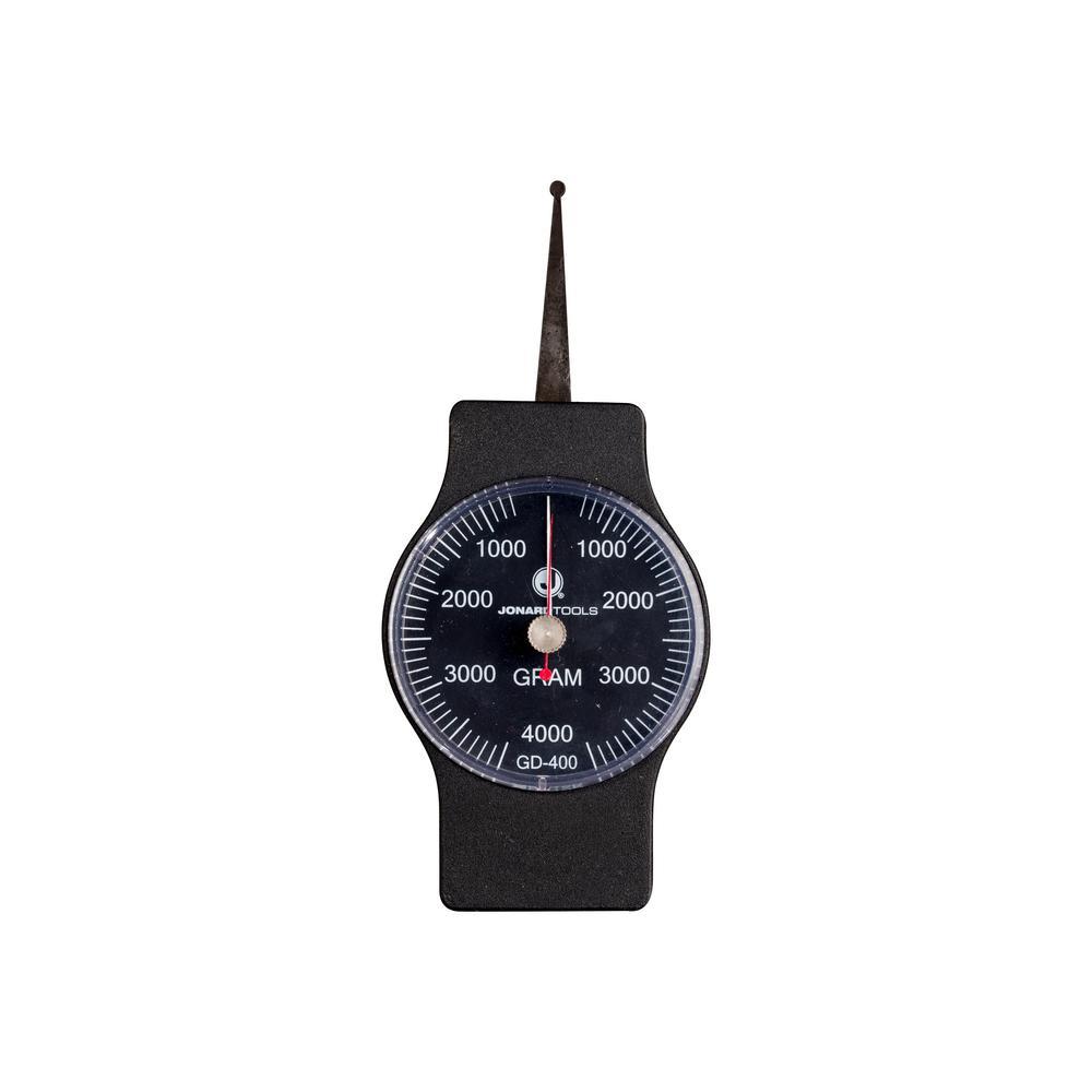 1.5 in. Dynamometer Gauge 400 g to 4000 g