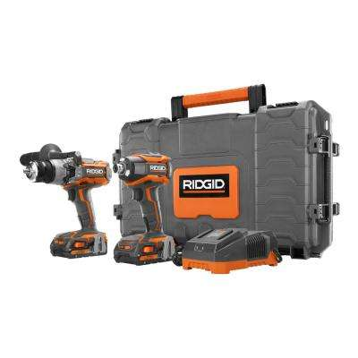 18-Volt GEN5X Lithium-Ion Cordless 1/2 in. Hammer Drill/Driver & 1/4 in. Impact Driver (2-Tool) Combo Kit with Hard Case