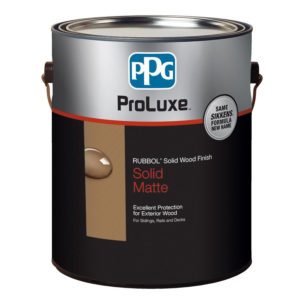 PPG ProLuxe 1-gal  #HDGSIK710-213 Butternut Rubbol Solid Wood Stain