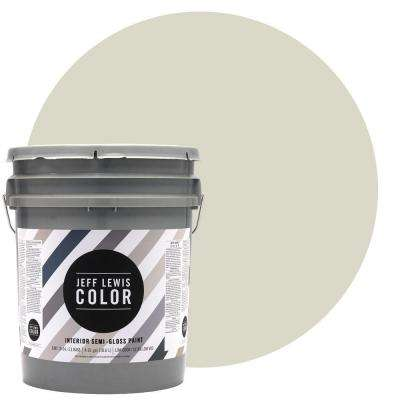 5-gal. #JLC210 Bone Semi-Gloss Ultra-Low VOC Interior Paint