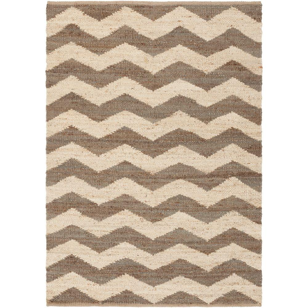 Alibunar Brown 2 ft. x 3 ft. Indoor Area Rug