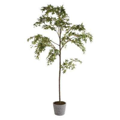 7 ft. Poly and Plastic Maple Tree