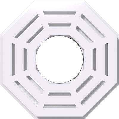 10 in. OD x 4 in. ID x 1 in. P Westin Architectural Grade PVC Contemporary Ceiling Medallion