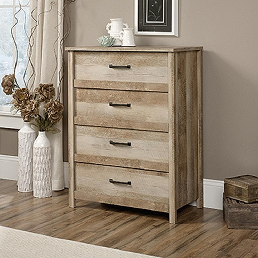Cannery Bridge 4 Drawer Lintel Oak Chest