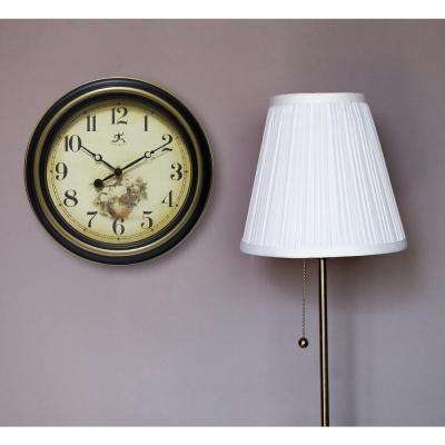 Procession 15.5 in. x 15.5 in. Round Wall Clock