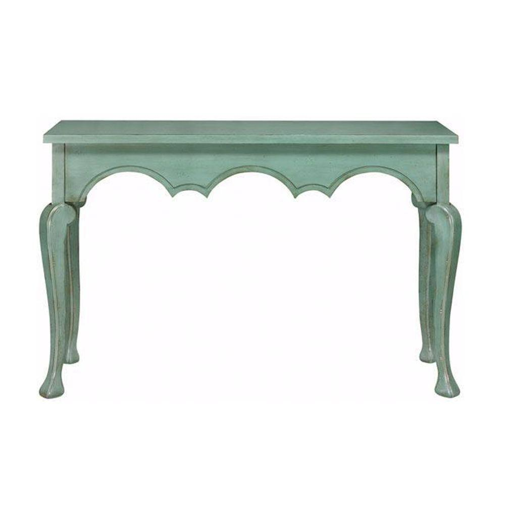 Home Decorators Collection Keys Antique Blue Console Table