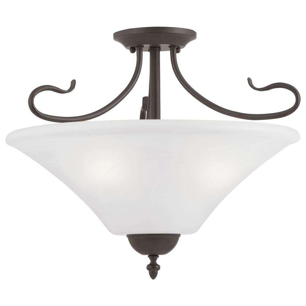 Elipse 3-Light Painted Bronze Pendant