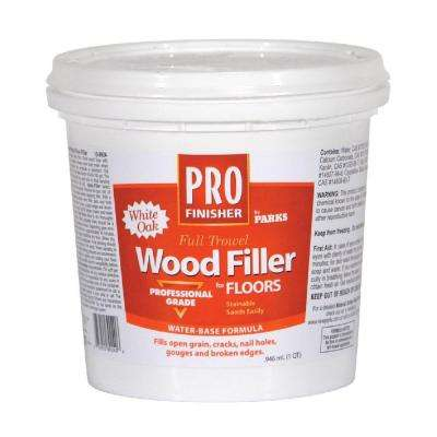 1 qt. White Oak Matte Full Trowel Wood Filler (6 Pack)
