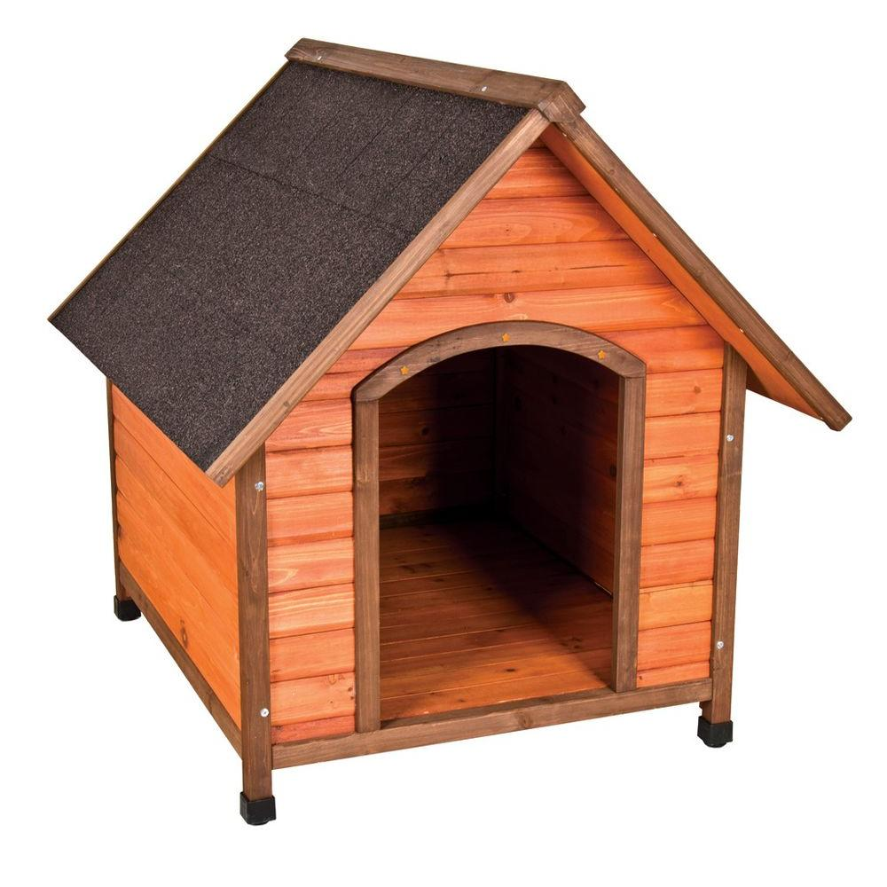 Premium extra large a frame doghouse 01708 the home depot for Zero dog house