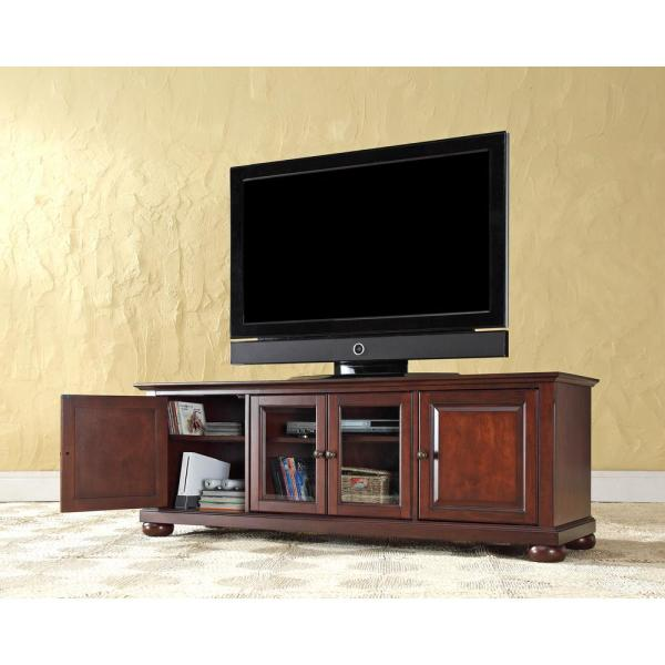 Crosley Alexandria Mahogany Entertainment Center KF10005AMA