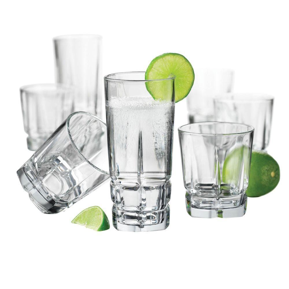 Libbey Squire 16-Piece Glassware Set