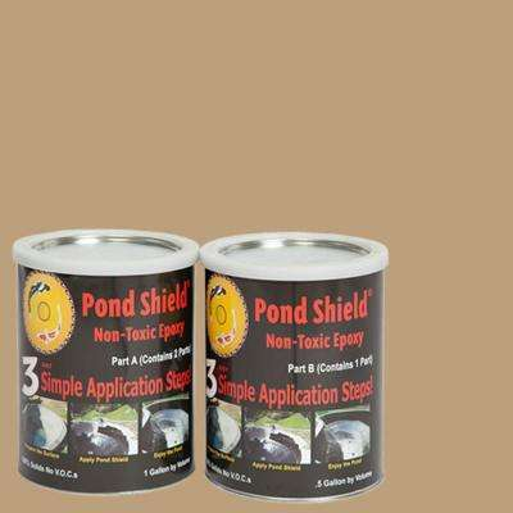 Pond Shield 1.5-gal. Tan Non Toxic Epoxy