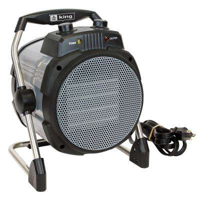 1500-Watt 120-Volt Portable Heater with Stat and Plug-In Cord