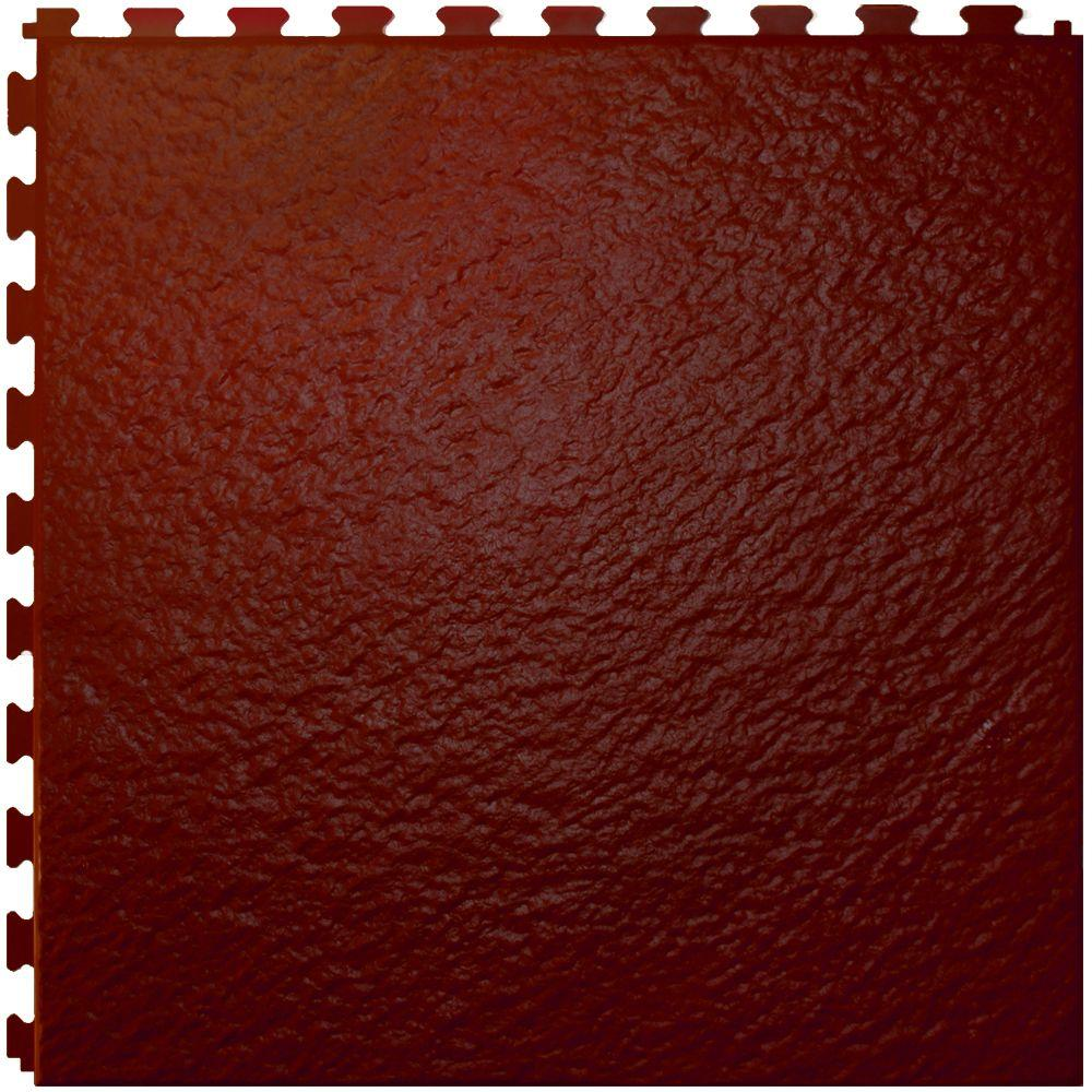 IT-tile Slate Tuscany RoseWood  20 In. x 20 In.  Vinyl Tile, Hidden Interlock Multi-Purpose Floor,  6 Tile-DISCONTINUED