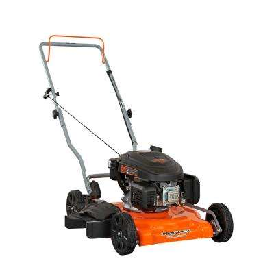 20 in. 166 cc OHV Gas Walk Behind Push Mower 2-in-1 Mulch Plus Side Discharge