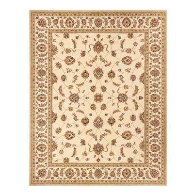 Claire Cream 9 ft. x 12 ft. Area Rug