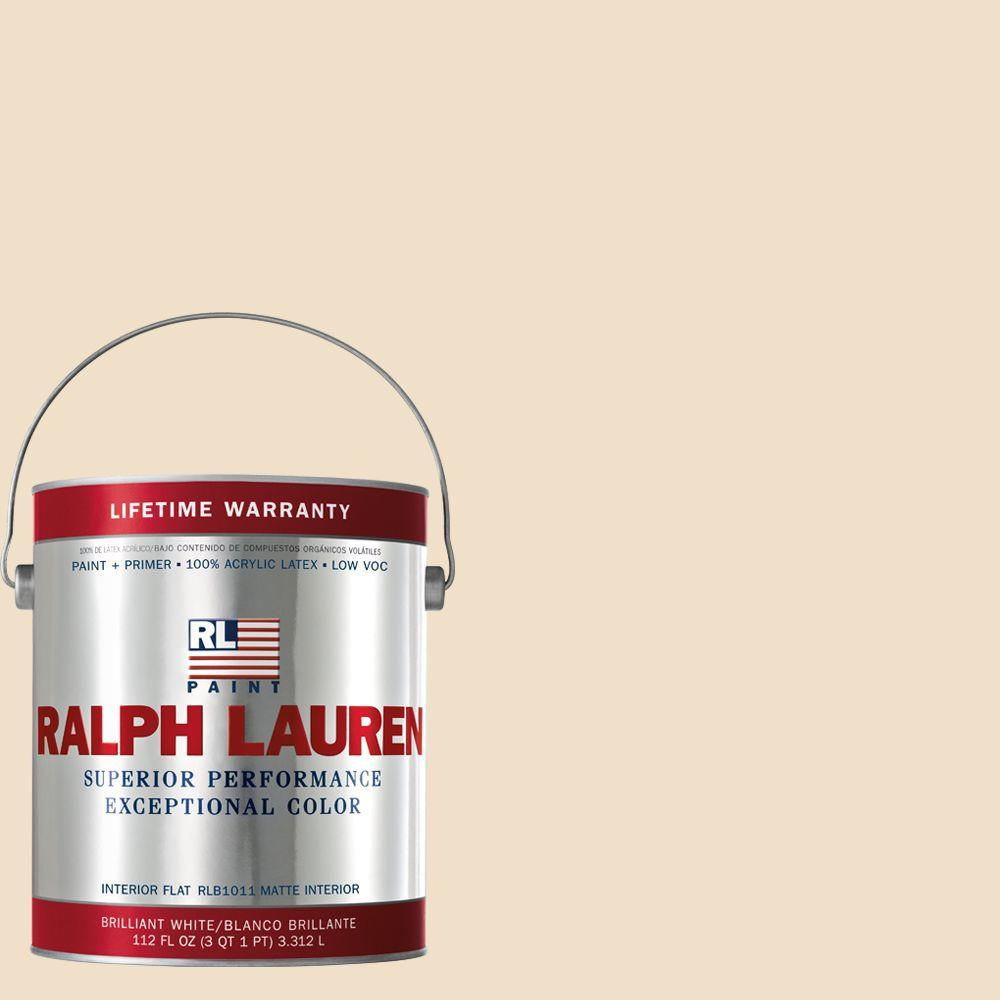 Ralph Lauren 1-gal. Tea Biscuit Flat Interior Paint