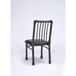 Caitlin Black Metal Dining Chair (Set of 2)