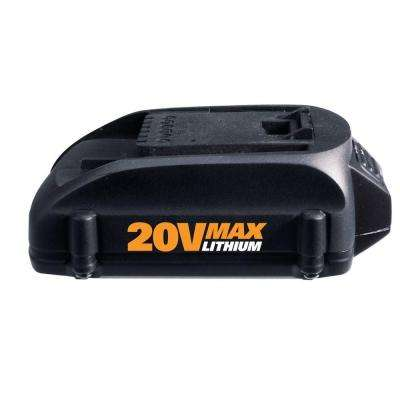 20-Volt Max Lithium-Ion Battery
