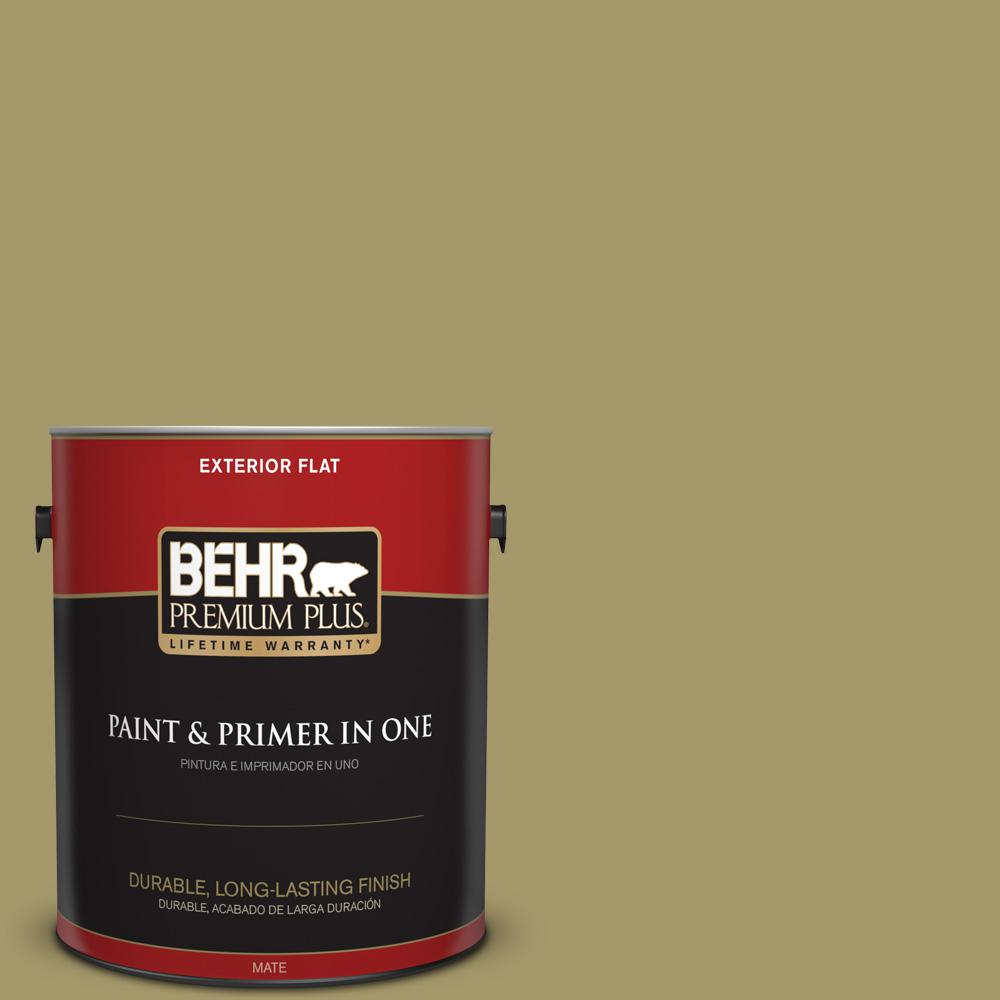 Ppu8 05 Eco Green Flat Exterior Paint And Primer In One