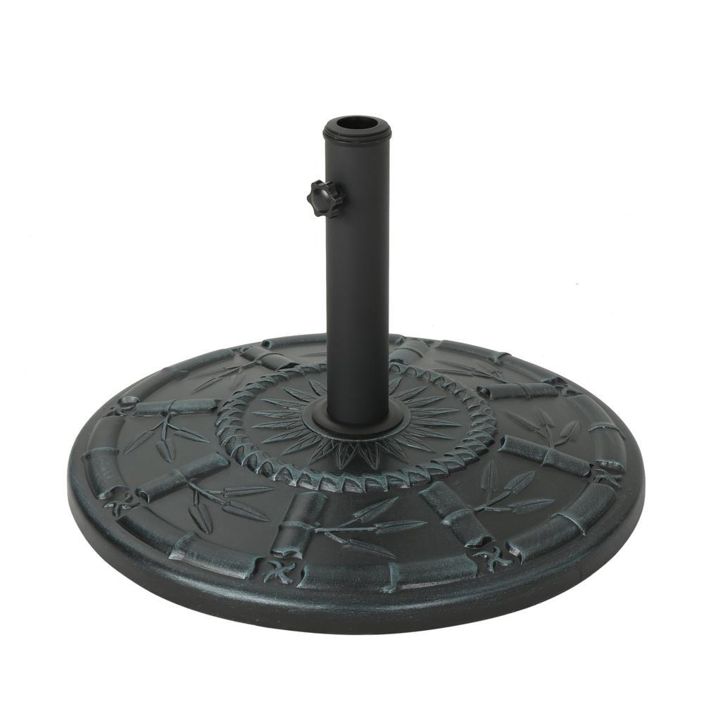 Dave 56.31 lbs. Concrete Patio Umbrella Base in Weathered Bronze
