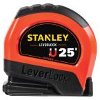 25 ft. LeverLock High Visibility Tape Measure with Magnetic