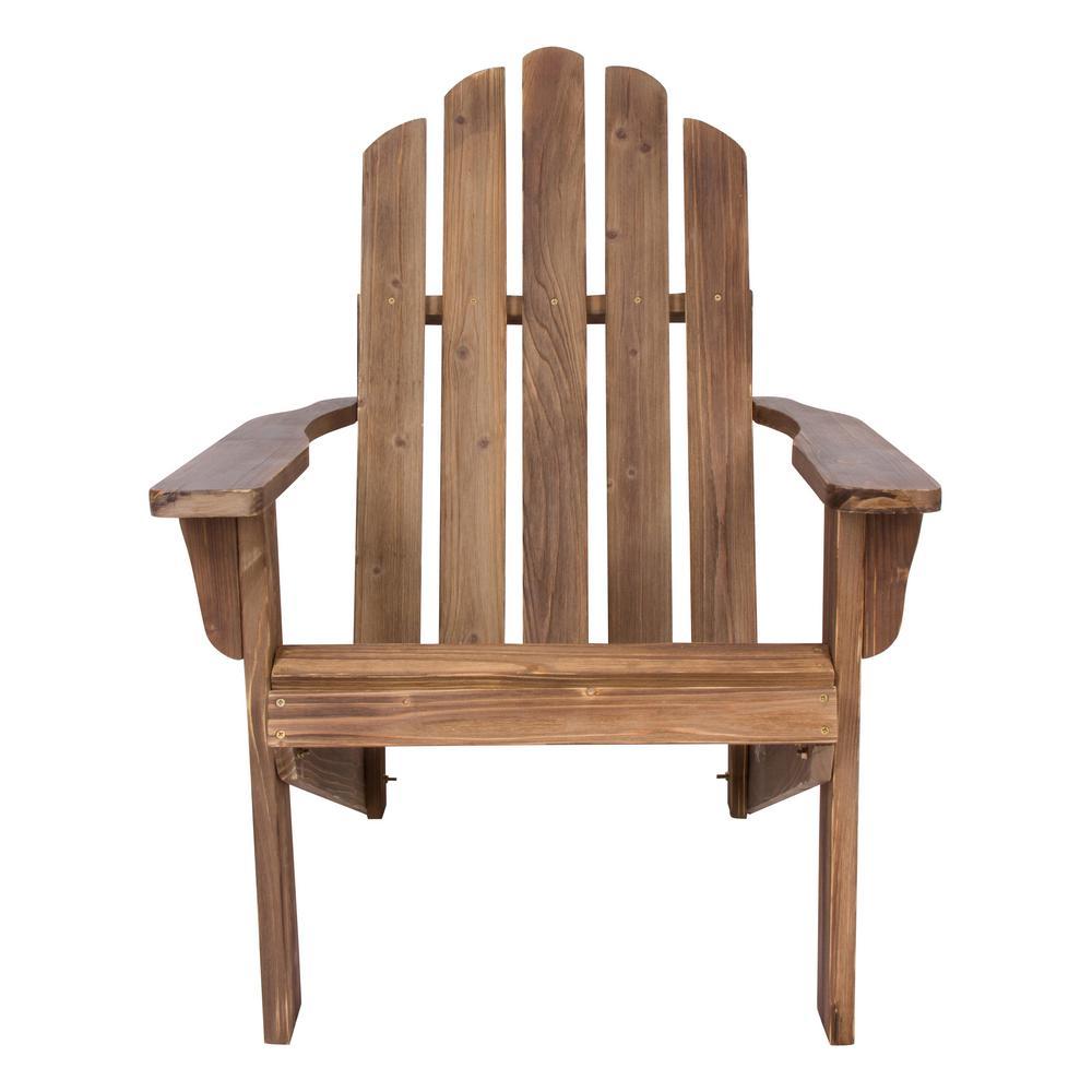 Marina Rustic Wine Rustic Cedar Wood Adirondack Chair