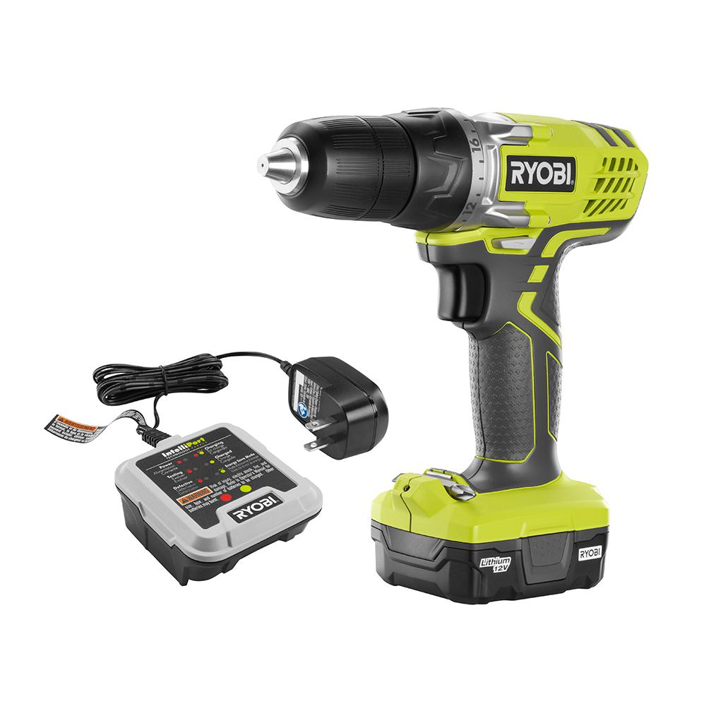 Cordless - Ryobi - Drills - Power Tools - The Home Depot