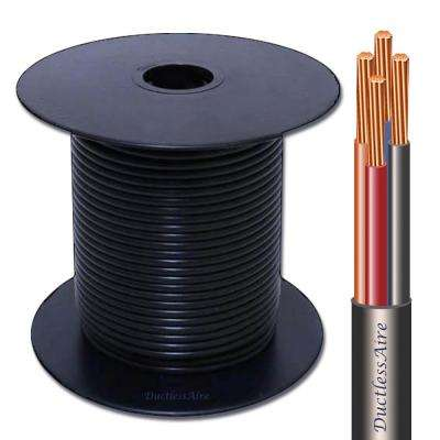 14/4 in. x 50 ft. Wire for Ductless Mini Split Air Conditioner Heat Pump Systems Universal