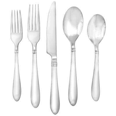 Annotto Satin 45-Piece Flatware Set