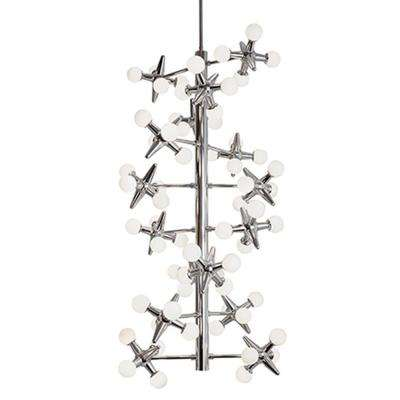 Besstell 16-Light Chrome 60-Watt Equivalince Integrated LED Chandelier