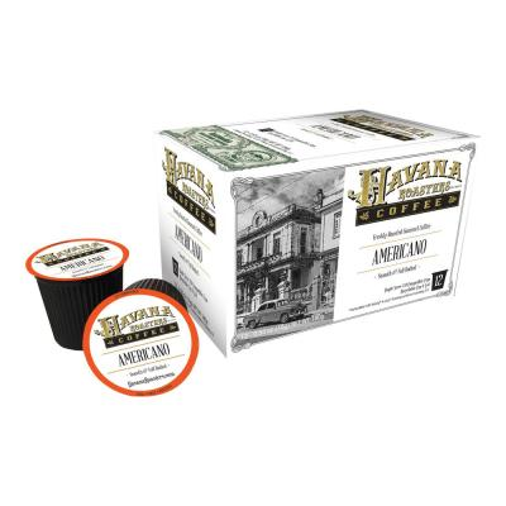 Americano 12 K-Cups Coffee (6-Boxes)