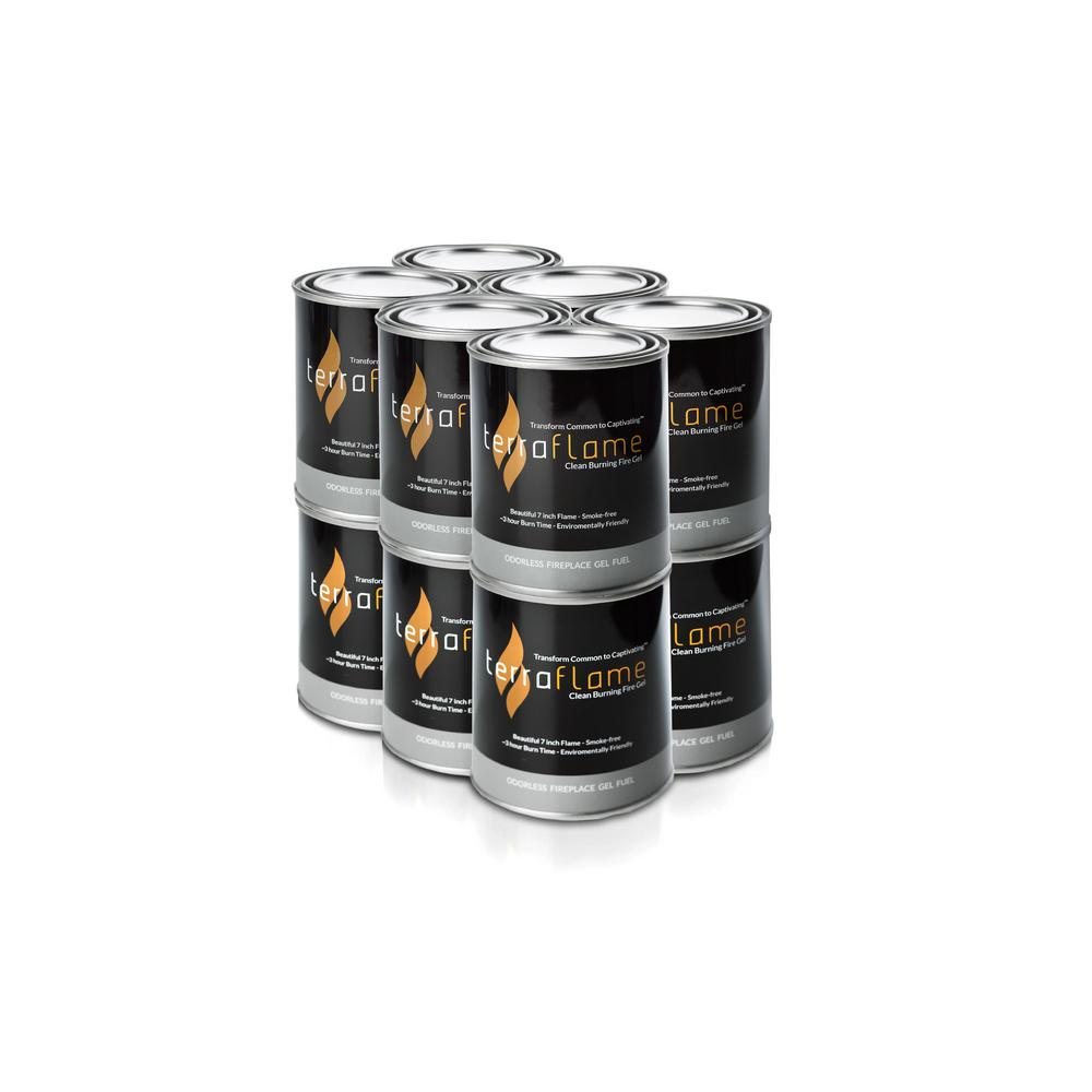 Terra Flame 5 In Citronella Gel Fuel By Sunjel 12 Pack